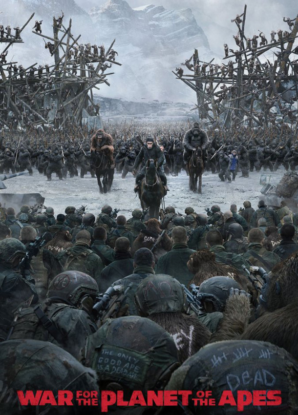 War for the Planet of the Apes - Credit IMDB