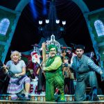 Gary Wilmot, Simon Lipkin, Denise Welch, Rufus Hound and Craig Mather in The Wind in the Willows - Credit Darren Bell