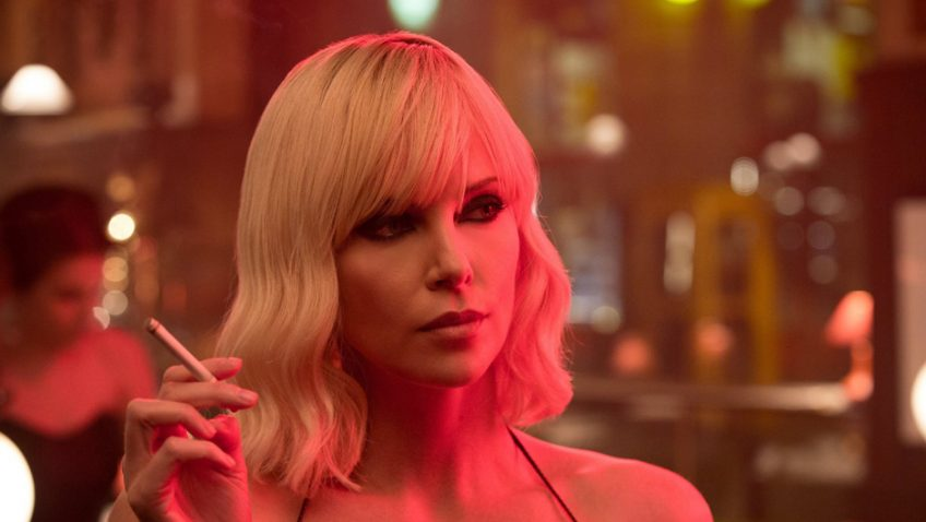 Charlize Theron rescues her film with a killer performance