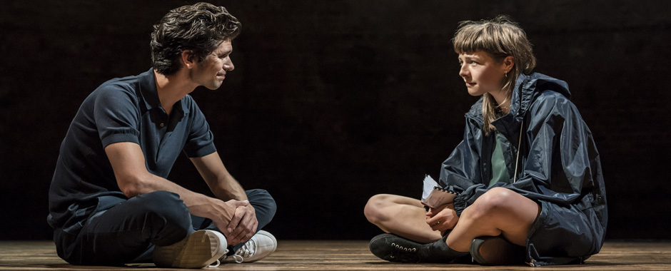Ben Whishaw and Emma D'Arcy in Against - Credit Johan Persson