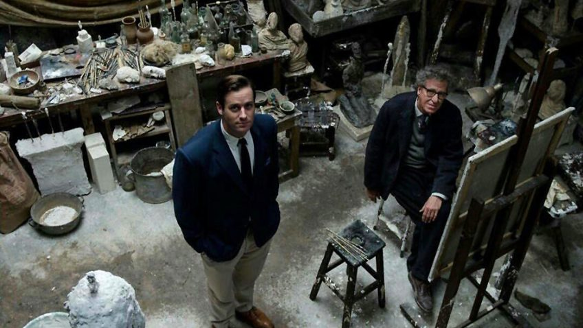 Stanley Tucci's slight portrait of the sculptor Giacometti fails to spark the imagination