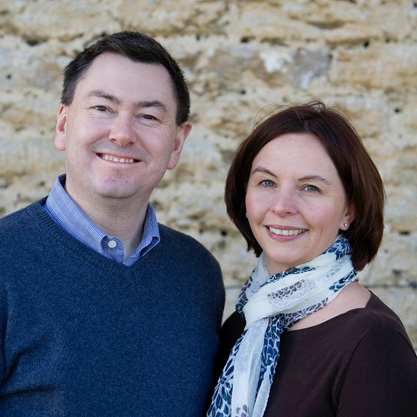 Karen Meagre and John McLachlan co-authors of 'Time Mastery'