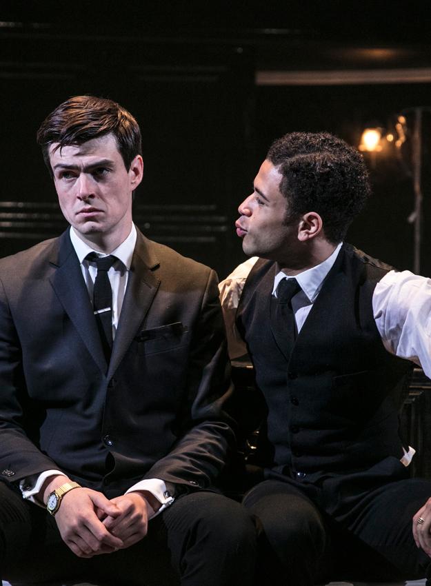 Sam Frenchum and Calvin Demba in Loot - Credit Darren Bell
