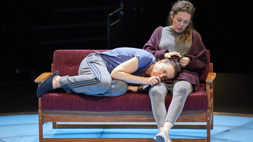 Olivia Colman and Olivia Williams in Lucy Kirkwood's new play
