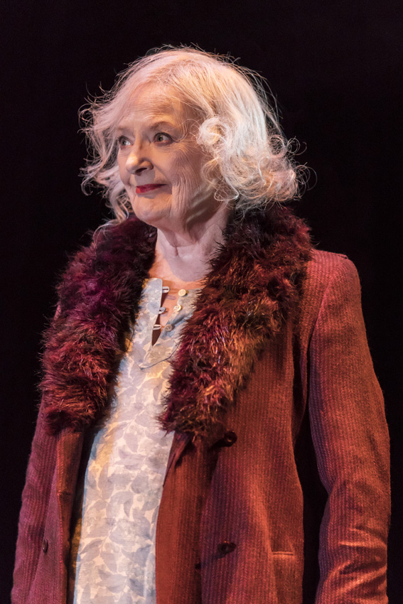 June Watson in Road at Royal Court Theatre - Credit Johan Persson