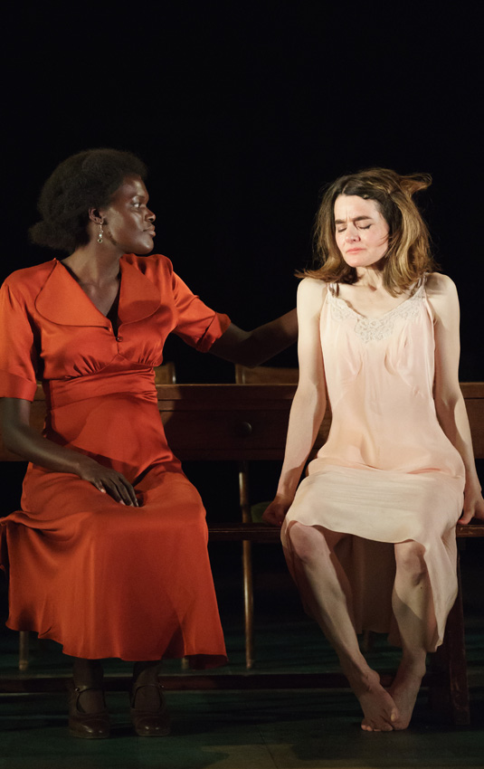 Shirley Henderson and Sheila Atim in Girl from the North Country - Credit Manual Harlan