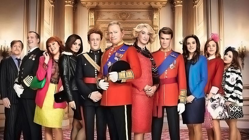 The Windsors – The writing is at its best the more it is directly inspired by real events