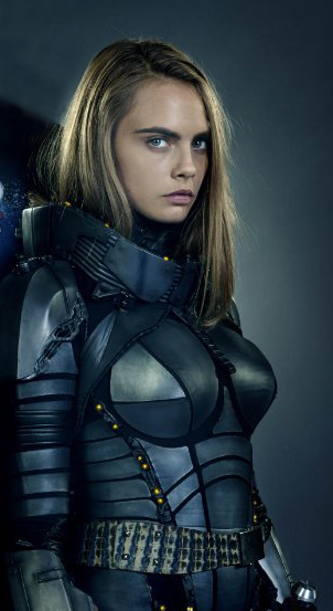 Cara Delevingne in Valerian and the City of a Thousand Planets - Credit IMDB