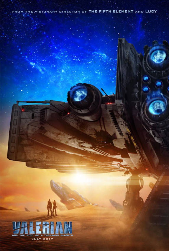 Valerian and the City of a Thousand Planets - Credit IMDB