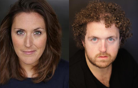 Ashley Bowden and Laura Dalgleish in Horrible Histories - Credit Kate Morley PR