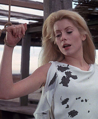 Catherine Deneuve in Belle de Jour - Credit IMDB
