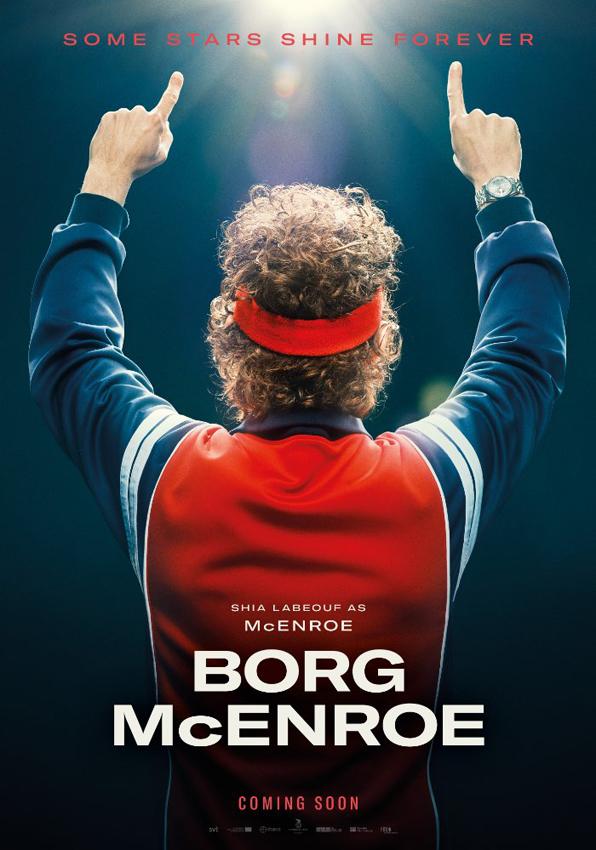 Borg vs McEnroe - Credit IMDB