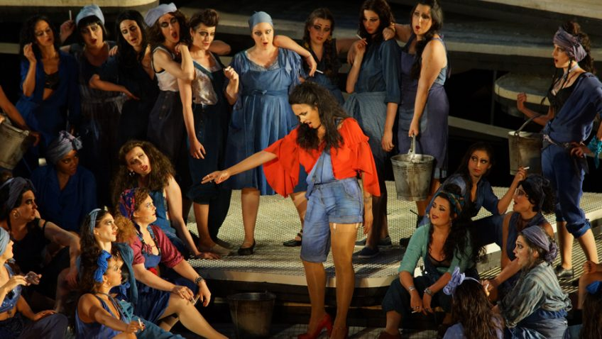 There's only one place to be this Thursday – on Lake Constance with George Bizet's Carmen