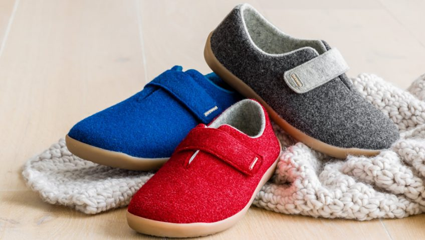 Scandi-style warmth for swollen feet