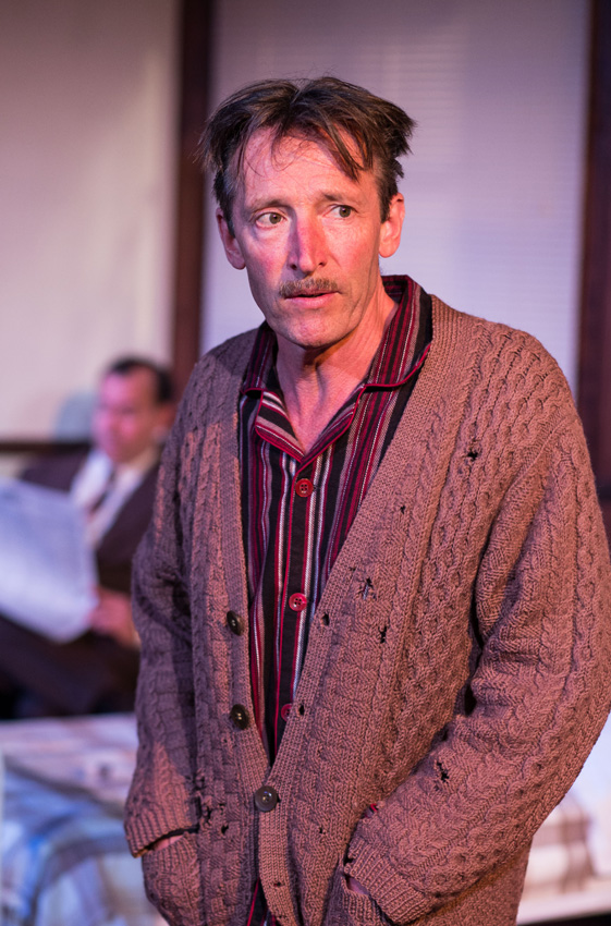 Peter Hamilton Dyer in Mrs Orwell - Credit Samuel Taylor