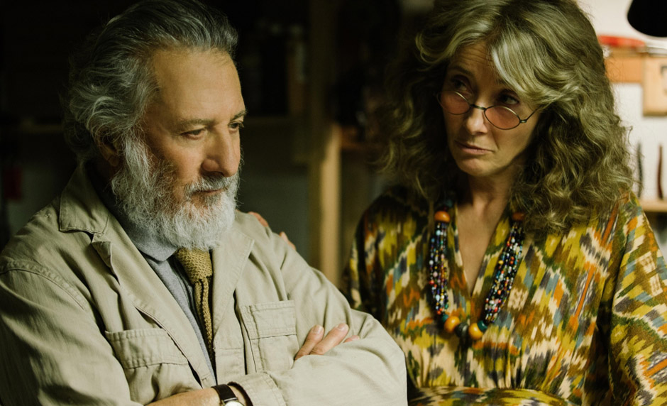 Dustin Hoffman and Emma Thompson in The Meyerowitz Stories - Credit IMDB