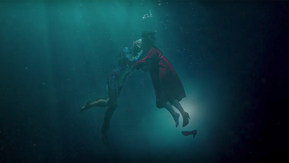 Doug Jones and Sally Hawkins in The Shape of Water - Credit IMDB
