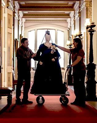 Victoria & Abdul costumes at Osborne House Copyright English Heritage