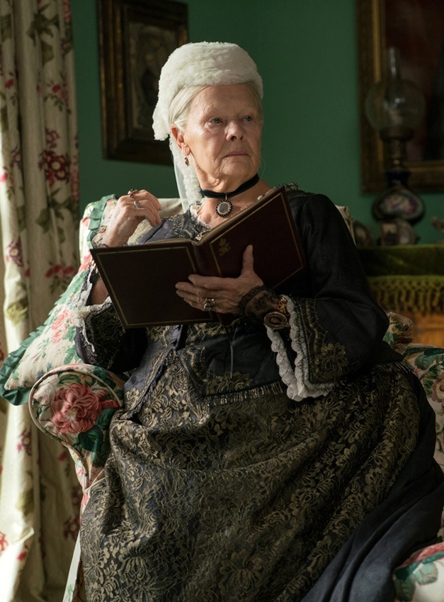 Judi Dench in Victoria and Abdul - Credit IMDB
