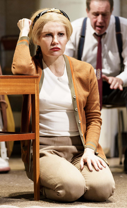 Karina Jones in Wait Until Dark - Copyright Manuel Harlan