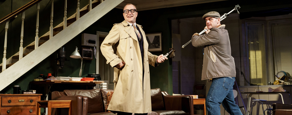 Tim Treloar and Graeme Brookes in Wait Until Dark - Copyright Manuel Harlan