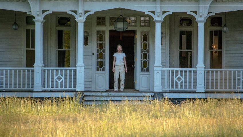 Superstar Jennifer Lawrence plays a battered woman in her boyfriend Darren Aronofsky's new film