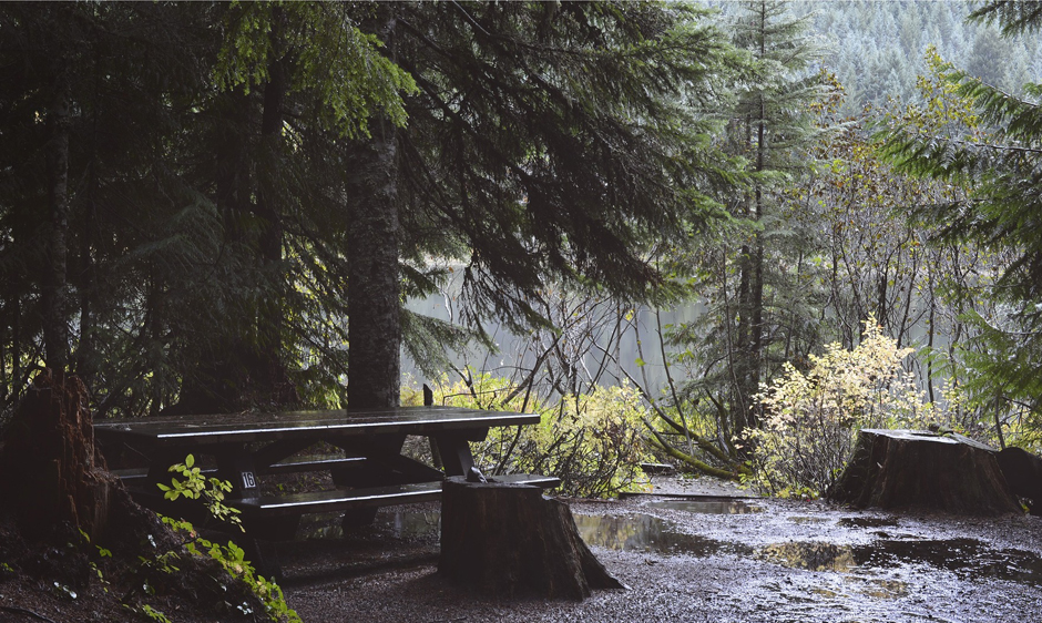 Picnic table - Rain - Free for commercial use - No attribution required - Credit Pixabay