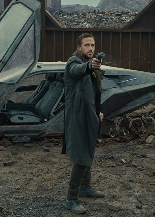 Ryan Gosling in Blade Runner 2049 - Credit IMDB