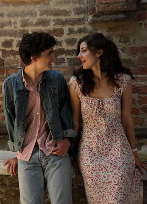 Esther Garrel and Timothée Chalamet in Call Me by Your Name - Credit IMDB