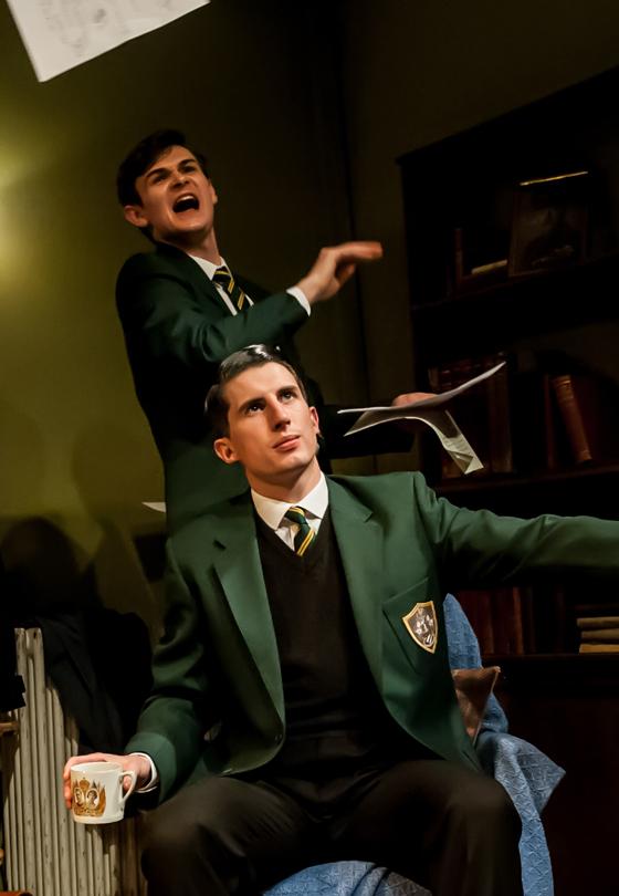 Harley Viveash and Oliver Gully in Quaint Honour - Credit Lidia Crisafulli