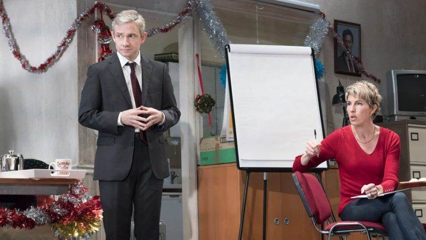 Three hours of politics with James Graham, Martin Freeman and Tamsin Greig