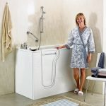 Easy access bathrooms for safer bathing