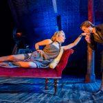 Natalie Dormer and David Oakes in Venus in Fur - Credit Tristram Kenton