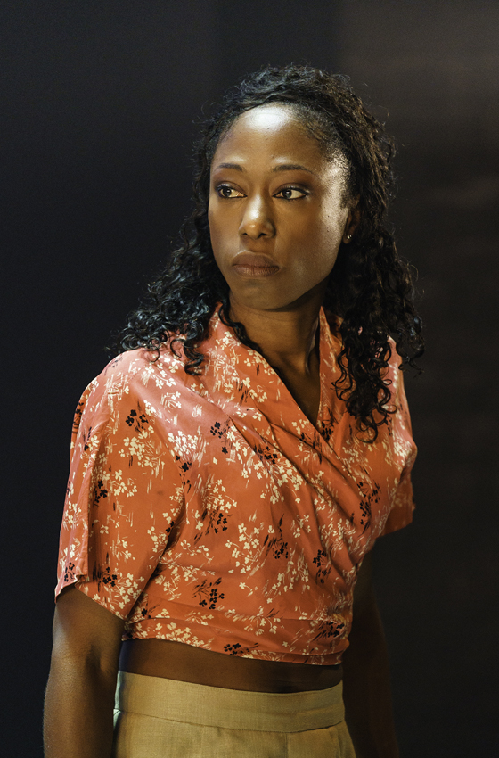 Nikki Amuka-Bird in The Lady from the Sea - Credit Manuel Harlan