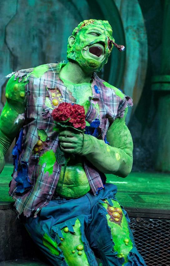 Mark Anderson in The Toxic Avenger - Credit Irina Chira