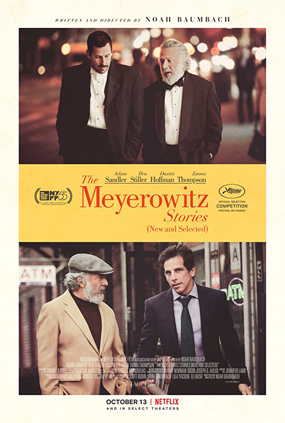 The Meyerowitz Stories - Credit IMDB