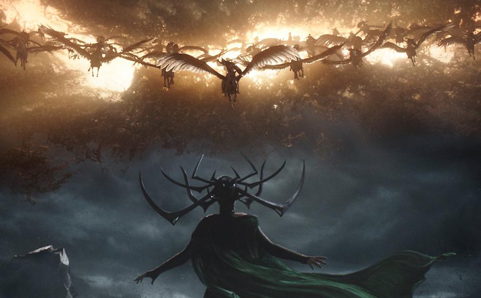 Cate Blanchett, Tessa Thompson, and Jet Tranter in Thor: Ragnarok - Credit IMDB