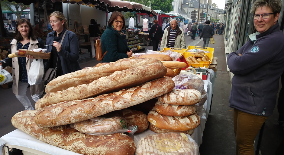 French market - Bread stall