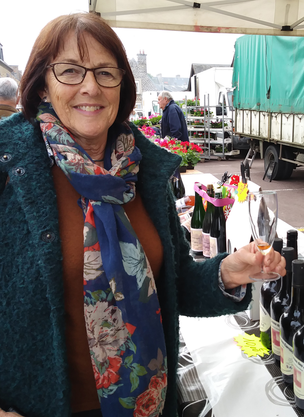 French market - Jenny Heath samples the Calvados