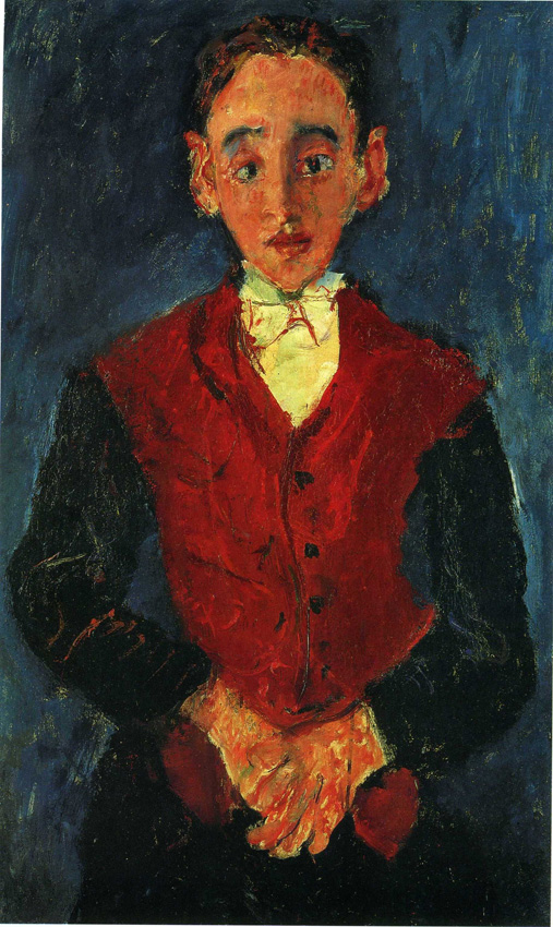 Soutine s portraits cooks waiters bellboys mature times for Valet de chambre blanc