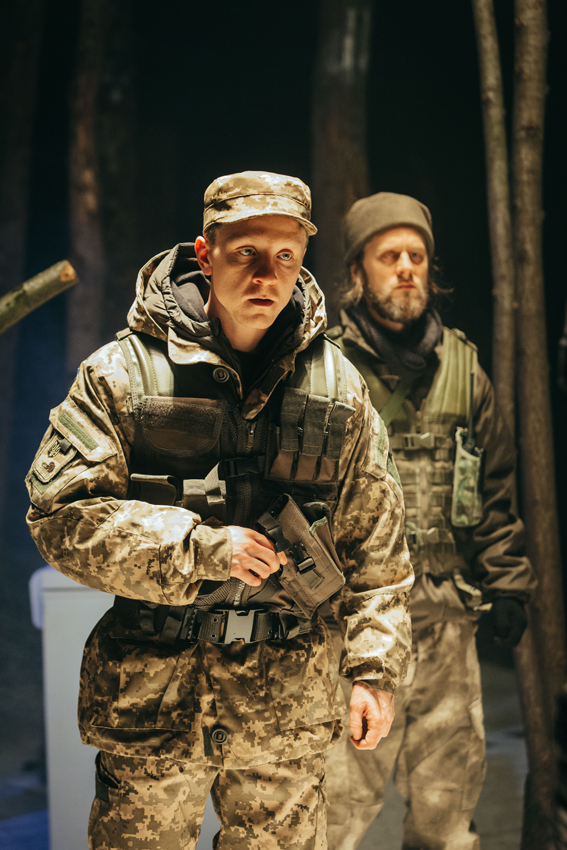 Mike Noble and Tadhg Murphy in Bad Roads - Copyright Helen Murray
