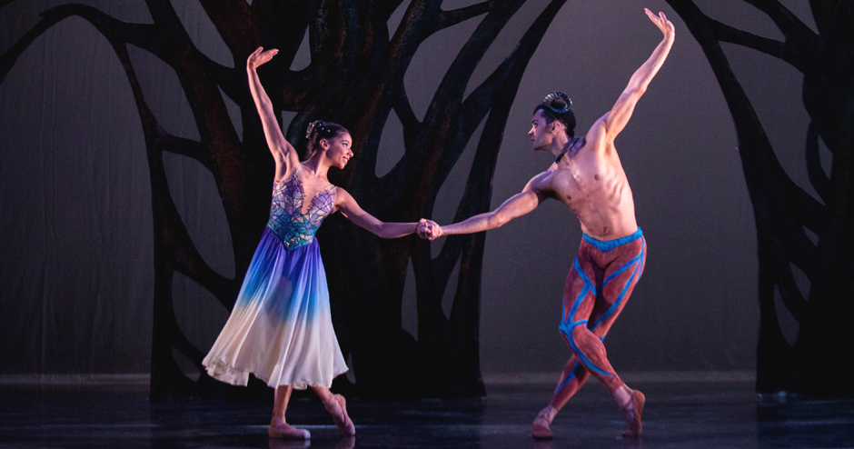 Brandon Lawrence and Céline Gittens in Arcadia - Credit Ty Singleton