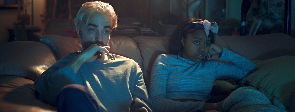 Robert Pattinson and Taliah Webster in Good Time - Credit IMDB