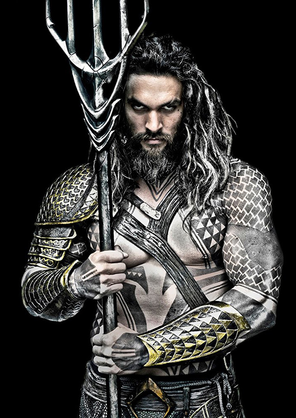 Jason Momoa in Justice League - Credit IMDB