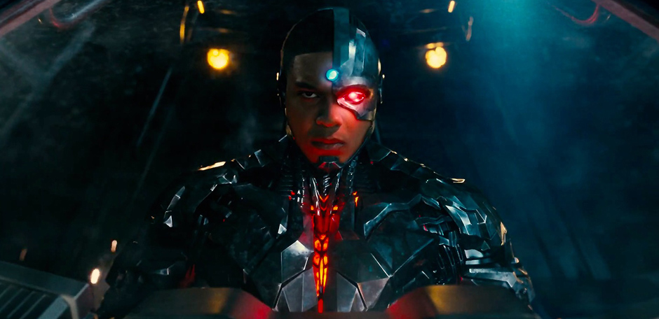 Ray Fisher in Justice League - Credit IMDB