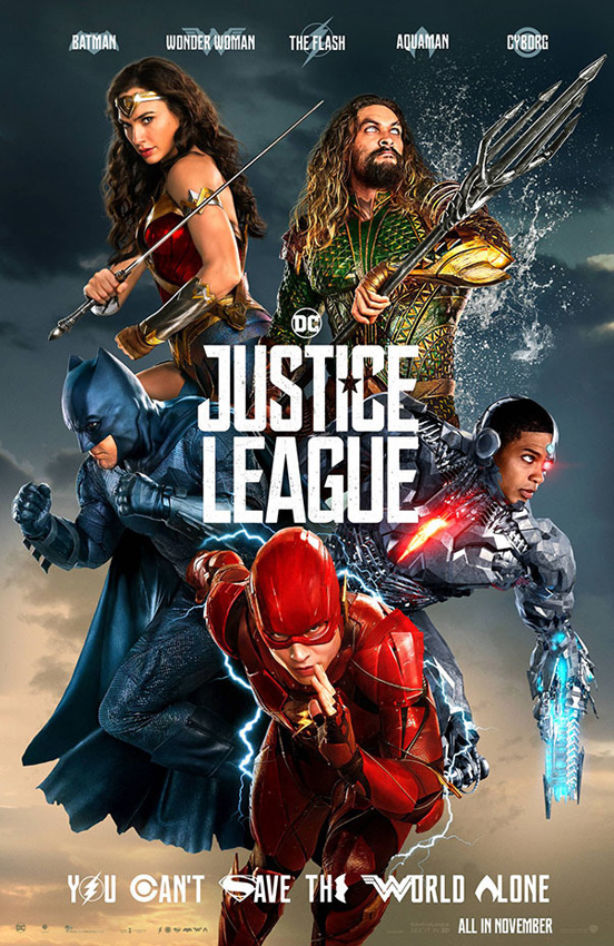 Justice League - Credit IMDB