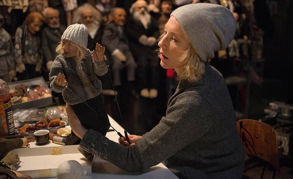Cate Blanchett in Manifesto - Credit IMDB
