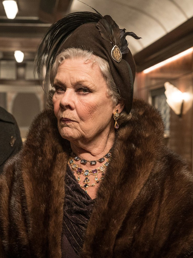 Judi Dench in Murder on the Orient Express - Credit IMDB