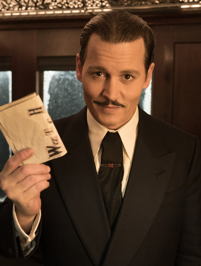 Johnny Depp in Murder on the Orient Express - Credit IMDB