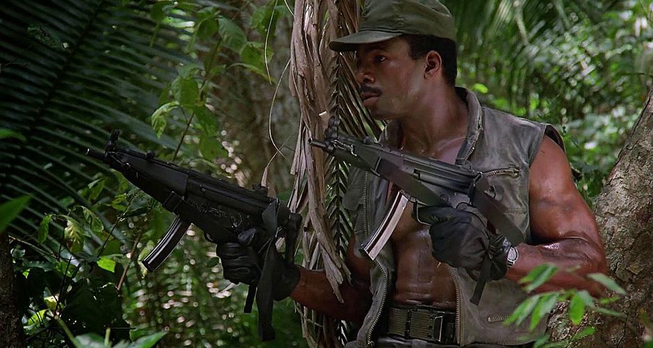Carl Weathers in Predator - Credit IMDB